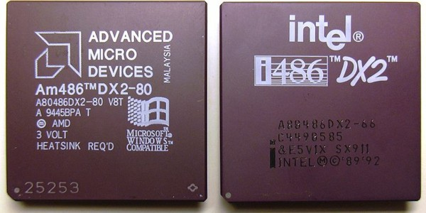 Intel vs Amd. Fotografía de https://cs.wikipedia.org/wiki/Wikipedista:Miraceti