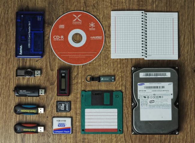 Los dispositivos de almacenamiento del equipo microinformático