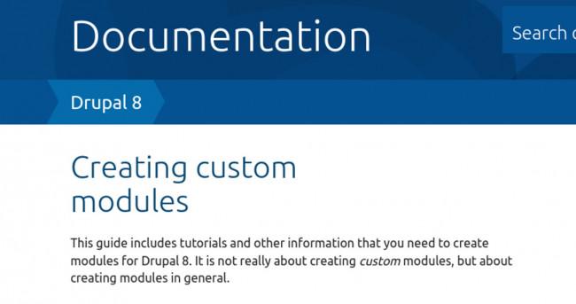 Drupal 8: Desarrollo de módulos
