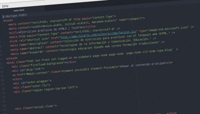 Código HTML5