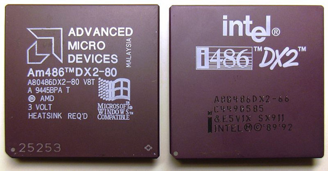 Intel vs Amd. Fotografía de https://cs.wikipedia.org/wiki/Wikipedista:Miraceti