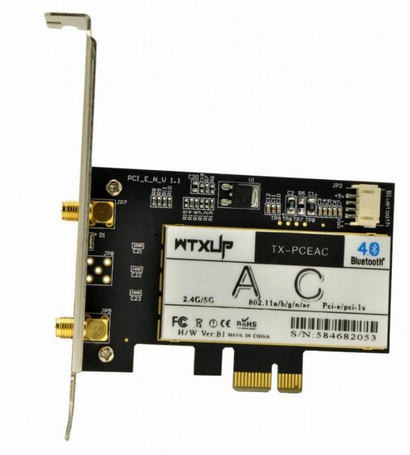 La tarjeta Bluetooth del equipo microinformático