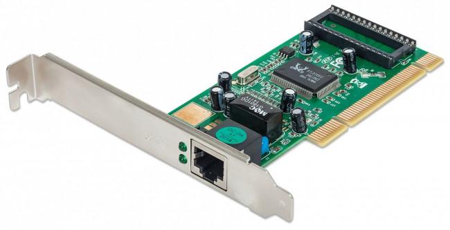 La tarjeta de red Ethernet del equipo microinformático