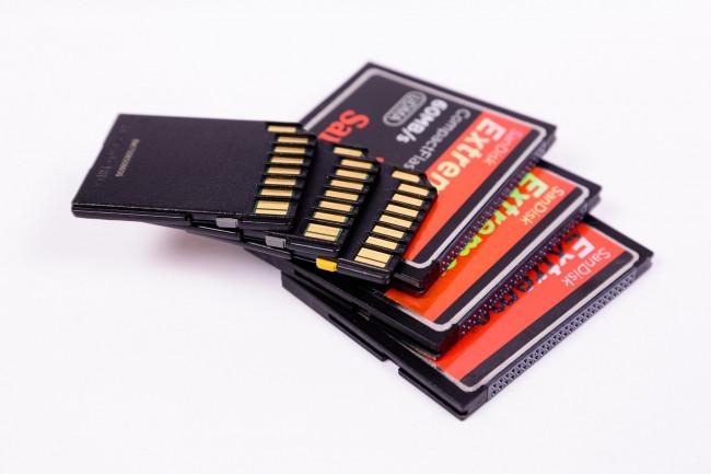 La tarjeta de memoria del equipo microinformático