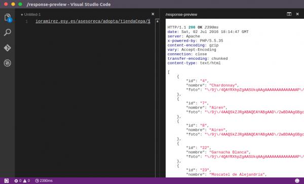 Para Gustos... Visual Studio Code