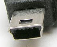 Conector USB Mini B 2.0
